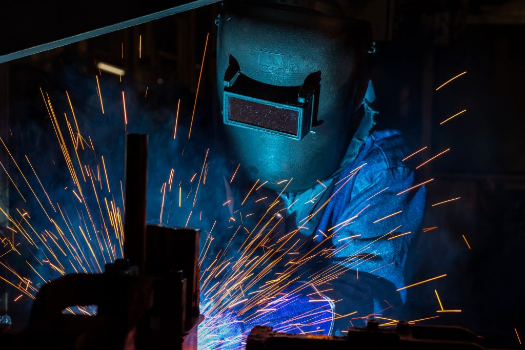 Jackrabbit SMAW Welding on-site
