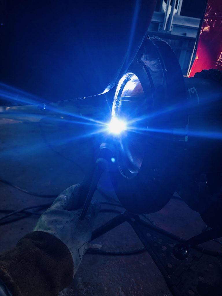 Shop Welding and Fabrication of Pipe Spools